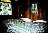 A room at Trogon Lodge